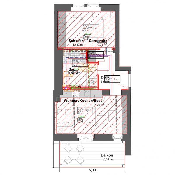 2-Raum Wohnung in Pirna