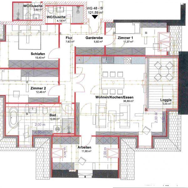 5-Raum-Wohnung nahe Freibad
